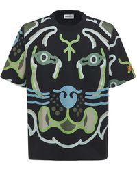 KENZO - Wwf Capsule コットンtシャツ - Lyst