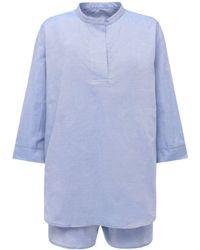 The Sleep Shirt - オックスフォードコットンパジャマセット - Lyst