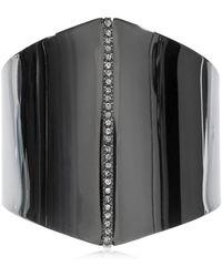 FEDERICA TOSI - Polygon Bracelet W/ Crystals - Lyst