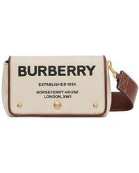 """Burberry Кожаная Сумка """"hackberry"""" - Естественный"""