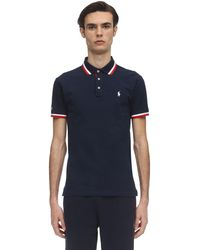 Polo Ralph Lauren Cotton Piquet Polo Shirt - Blau