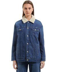 Carhartt Trucker Cotton Canvas Jacket - Blue