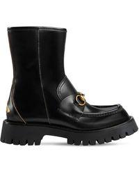 Gucci Кожаные Ботильоны 25mm - Черный