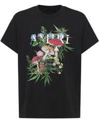 Amiri Psychedelic ジャージーtシャツ - ブラック