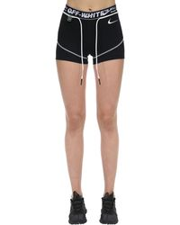 "Nike Short ""Off-White W Nrg Ru Pro"" - Noir"