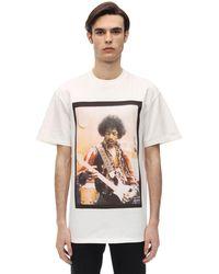ih nom uh nit Hendrix Bowl コットンtシャツ - ホワイト
