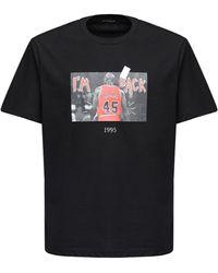 Throwback. Michael Jordan コットンtシャツ - ブラック