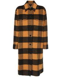 MM6 by Maison Martin Margiela Пиджак-рубашка Из Шерсти - Многоцветный