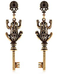 Alcozer & J Sylvie & Marion Earrings - Metallic