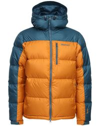 Marmot Guides フーデッドダウンジャケット - マルチカラー