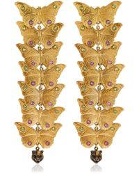 Gucci | Statement Butterfly Earrings | Lyst
