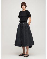 Noir Kei Ninomiya コットンジャージーtシャツ - ブラック