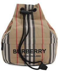 Burberry Heritage Phoebe Eco ナイロンポシェット - マルチカラー