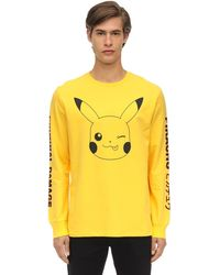 Criminal Damage - Pikachu ジャージー ロングtシャツ - Lyst