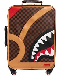 Sprayground Henny Air To The Throne Luggage Case - Brown