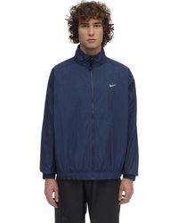 Nike Nrg Track Jacket - Blau