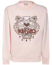 "KENZO Baumwollpullover ""classic Tiger"" - Pink"