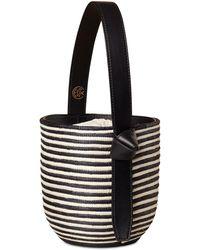 Cesta Collective Zebra Lunchpail Top Handle Bag - Black