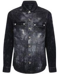 Htc Los Angeles - コットンブレンドデニムシャツジャケット - Lyst