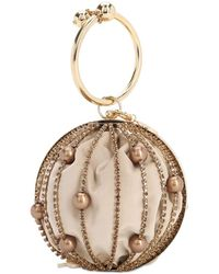 Rosantica - Sasha Crystal Sphere Top Handle Bag - Lyst