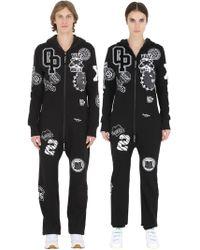 OnePiece - Patch Cotton Blend Jumpsuit - Lyst