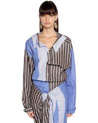 Marni - Camicia Oversize In Popeline Di Cotone - Lyst