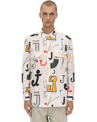 Jacquemus Printed Cotton Velvet Shirt - Multicolour