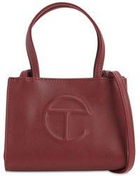 Telfar Small Embossed Faux Leather Tote Bag - Multicolour