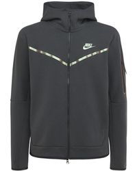 Nike Sweatshirt Austechnofleece - Schwarz