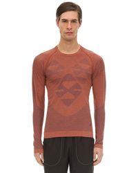 Asics Kiko Kostadinov Seamless Techno T-shirt - Red