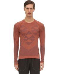 "Asics T-shirt Aus Technostoff ""kiko Kostadinov"" - Rot"