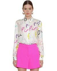 Emilio Pucci - シルクツイルシャツ - Lyst