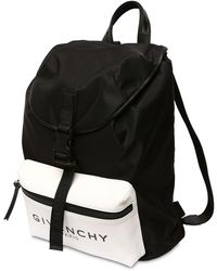 Givenchy Nylonrucksack Mit Glow-in-the-dark - Schwarz