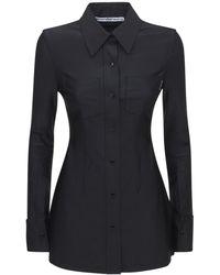 Alexander Wang コルセットシャツ - ブラック