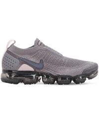 Nike Air Vapormax Flyknit Moc Trainers - Gray
