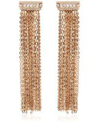 Lanvin | Chain Fringed Clip-on Earrings | Lyst