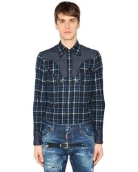 DSquared² - Western Long Sleeve Shirt - Lyst