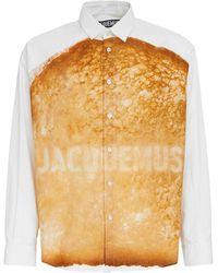 Jacquemus Рубашка Из Хлопка С Принтом - Многоцветный