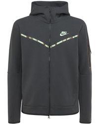 Nike テックフリースジップアップスウェットシャツ - ブラック