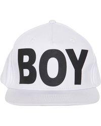 BOY London - Cappello In Tela Di Cotone - Lyst