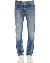 Armani Exchange Jeans Medium Blue Wash 12.5oz