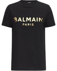 Balmain - オーガニックコットンtシャツ - Lyst