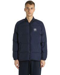 adidas Originals Sst ボンバージャケット - ブルー