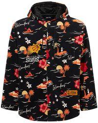 Just Don Phoenix Suns ベルベットジャケット - ブラック