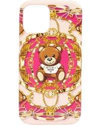 Moschino Teddy Print Iphone 12 Pro Max Case - Multicolour