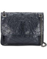 Saint Laurent - Medium Niki Monogram Leather Bag - Lyst