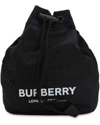 Burberry Клатч Из Материала Econyl® С Логотипом - Черный
