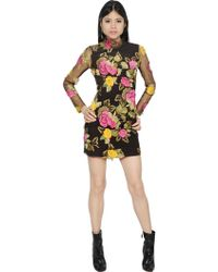 Blumarine | Embroidered Tulle Dress | Lyst