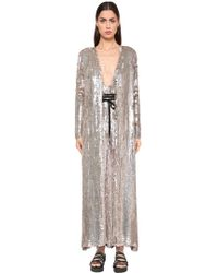 Temperley London - Sequined Viscose Coat - Lyst