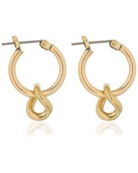 Laura Lombardi - Mini Onda Charm Earrings - Lyst